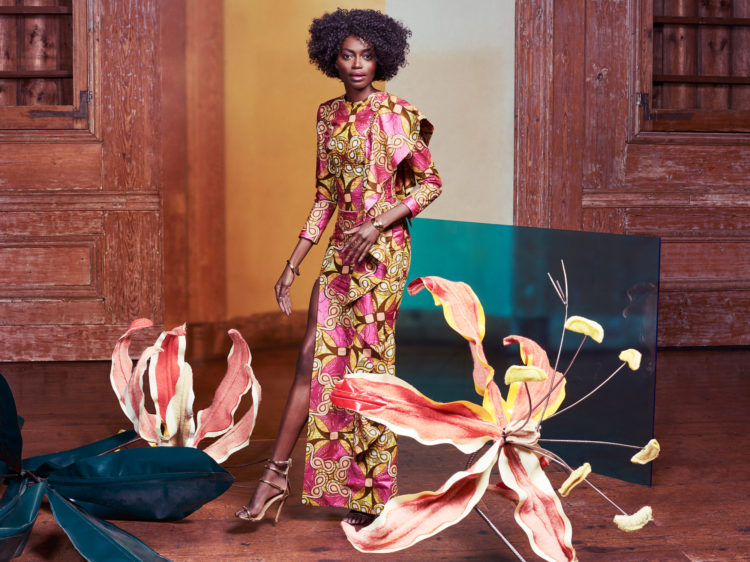Photo shoot for Vlisco