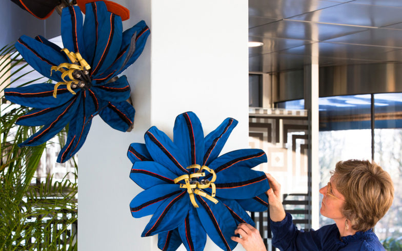 Flowers for Royal Dutch Airlines